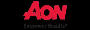 AON logo with tagline