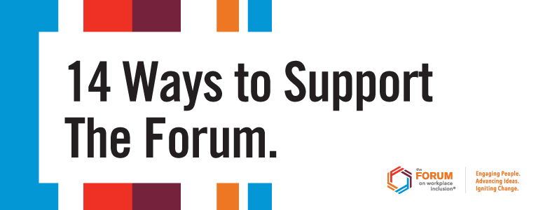 14 Ways to Support The Forum