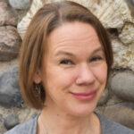 Lynn Thompson smiling