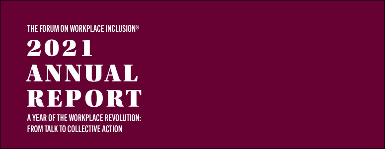 2021 Annual Report – A Year of the Workplace Revolution: From Talk to Collective Action